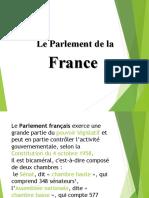 Parlamentul Frantei(de povestit)