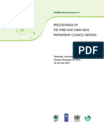 Proceedings of the Third East Asian Seas Partnership Council Meeting