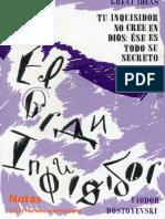 El-gran-inquisidor-Fiodor-Dostoyevski