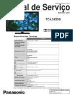 Manual Tecnico - Panasonic+TC-L24X5B+LCD