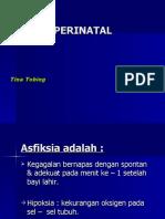 Asfiksia Perinatal 2008