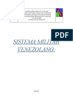 Sistema Militar Venezolano