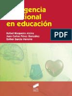 LIBRO Inteligencia emocional en educación- Rafael Bisquerra, Juan Carlos Pérez y Esther García