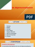 La dépersonnalisation TD.pptx