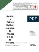 Analisis critico reflexivo