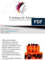 Catalogo de Jabones