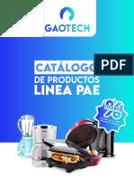 Catalogo linea PAE gaotech
