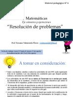 4° MAT - Resolución de problemas