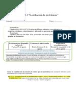 4°-MAT- Guía Resolución de problemas