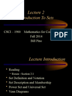 Lecture 2 - Introduction to S