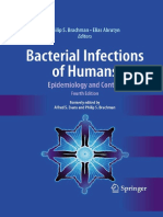 [ Philip S Brachman et al ] Bacterial Infections of Human.pdf
