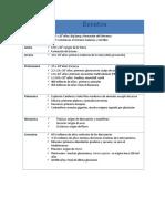 Fechas y Eventos Import Antes Para Ciencias de La VidaEra (DOC)