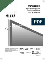 TV Panasonic 50 Viera P50G11B Manual