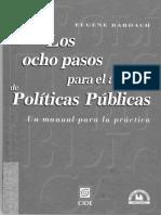 Los ocho pasos para el análisis de políticas públicas- Eugene Bardach