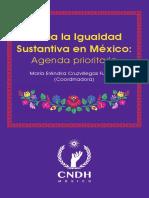 Erendira Cruz Villegas -Hacia la igualdad sustantiva en México