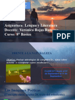 8° LENGUA Y LITERATURA N° 1; segundo semestre