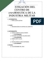 Proyecto Grupal Industria Militar
