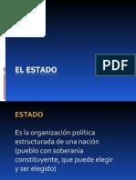 1 - EL ESTADO