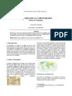 ACTIVIDAD 1, ARTICULO HISTORIA DE LA CARTOGRAFIA