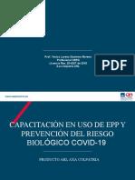 USO, MANTENIMIENTO Y DISPOSICION FINAL EPP
