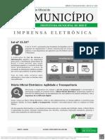 Diario Oficial - PREFEITURA MUNICIPAL DE IRECE - Ed 1450.pdf