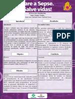 Modelo de Pôster para a I Semana Científica para o Controle da Sepse.ppt