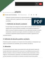 Derecho societario • GestioPolis