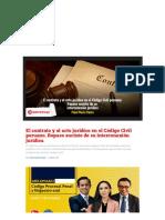 El contrato y el acto jurídico en el Código Civil _1602552730773