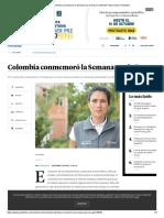 Colombia conmemoró la Semana por la Paz _ Contenido Patrocinado _ Portafolio