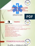 PRIMEROS AUXILIOS JAVIER GARCIA CHONG