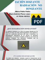 radiacion ionizante y no ionizante