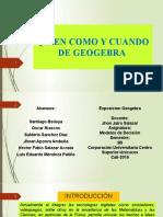 GEOGEBRA EXPOSICION