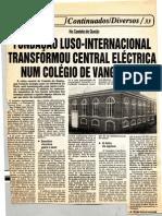 CLIP Colegio Luso Internacional - Um Colegio de Vanguarda - Fundado Por Artur Victoria