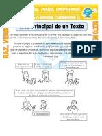 Idea-Principal-de-un-Texto-para-Sexto-de-Primaria