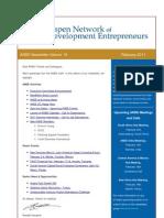 ANDE Newsletter - February 2011