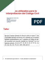 Métodos utilizados para la interpretación del Código Civil.pdf