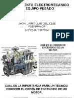 MANTENIMIENTO ELECTROMECANICO DE EQUIPO PESADO JHON JAIRO