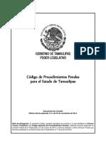 Codigo de Procedimientos Penales Tamaulipas 2020