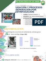 Centrifugación Grupo-A