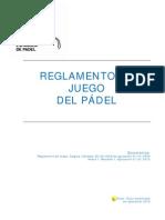 REGLAMENTO OFICIAL PADEL