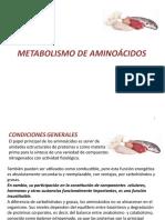 Cap 15 Metabolismo de aminoácidos
