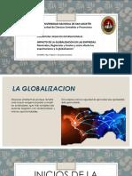 3 GLOBALIZACIÓN efectos e impacto