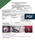 8° Castellano secuencia didáctica 4 Juan Jacobo Ibarra - Luis Felipe Juaspuezán periodo 2 de 2020