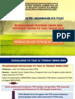 3 Penjelasan tahapan P3-TGAI di Tingkat P3A