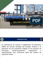 REGLAMENTO DE EDUCACIÓN MILITAR