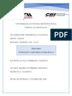 Petroleo y reforma energetica.docx