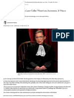 The Meaning of Ruth Bader Ginsburg's Lace Collar - The New York Times.pdf