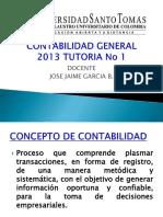 CONTABILIDAD GENERAL PRIMERA TURORIA