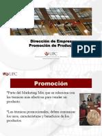 Dirección de Empresas-Promoción de productos