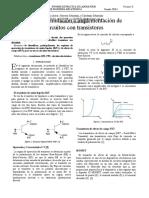 Diseño, simulación e implementación de circuitos con transistores